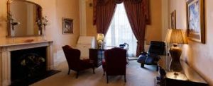 One of the consulting rooms in 10 Harley Street